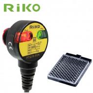 Czujnik optyczny, refleksyjny RIKO PTQ18-PR1N