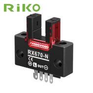 Mikroczujnik optyczny, widełkowy RIKO RX670-P