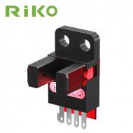 Czujnik optyczny, widełkowy RIKO RX674-P