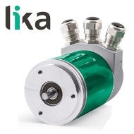 Enkoder absolutny LIKA AM58 CB • AM58S CB, wieloobrotowy miniatura