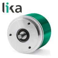 Enkoder inkrementalny 1024 imp/obr LIKA I58-H-1024ZCU48RL7 miniatura