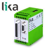 Konwerter sygnału SSI na wyjście równoległe do enkoderów LIKA IF52 miniatura