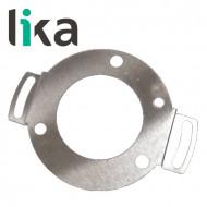 Blaszka montażowa do enkodera LIKA KIT xx59