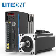 Serwomotor 0,2kW LiteON IOSMPHA06020MC3NA miniatura