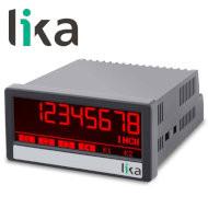 Wielofunkcyjny wyświetlacz do czujników analogowych LIKA LD210 miniatura