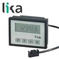 Wyświetlacz pozycji zintegrowany z enkoderem liniowym LIKA LD142 miniatura