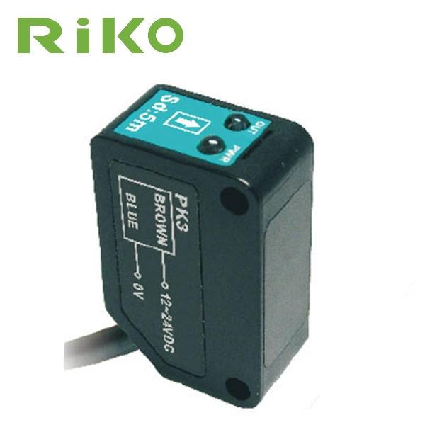 Czujnik optyczny, odbiciowy RiKO PK3-V03P zbieżny