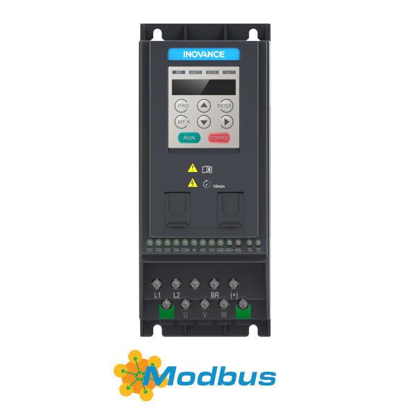 Falownik 0,4kW 1-fazowy INOVANCE MD200S0.4B-INT wektorowy komunikacja
