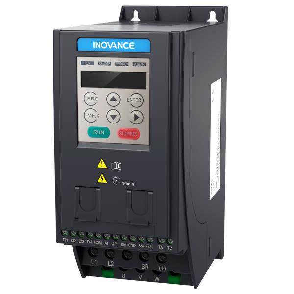 Falownik 0,75kW 1-fazowy INOVANCE MD200S0.75B-INT wektorowy ultrakompaktowy