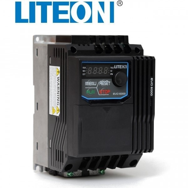 Falownik 1,5kW 1-fazowy LiteON EVO600021S1D5E20F wektorowy