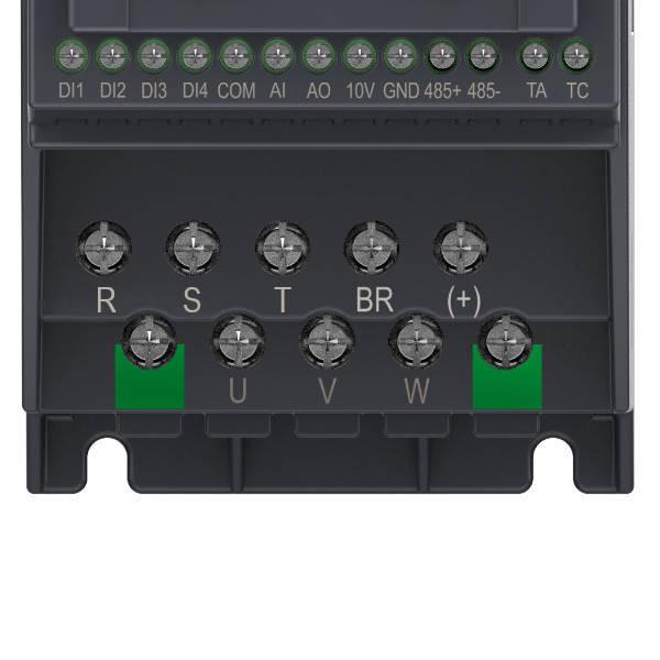 Falownik 1,5kW 3-fazowy INOVANCE MD200T1.5B-INT zaciski