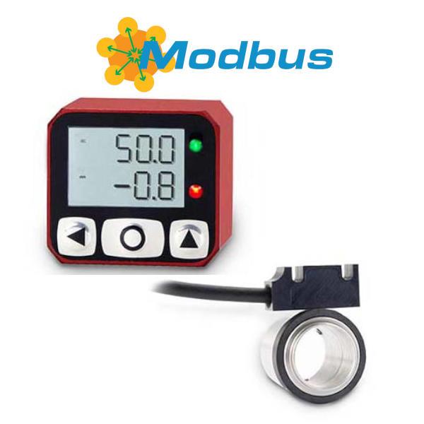 Programowalny wskaźnik położenia Fiama F4RS-AM z pierścieniem magnetycznym Modbus
