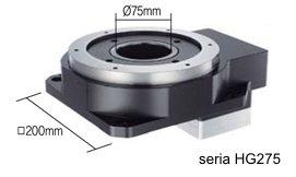 Aktuator obrotowy (stół obrotowy) z przekładnią Ezi-Robo HG - otwór przelotowy
